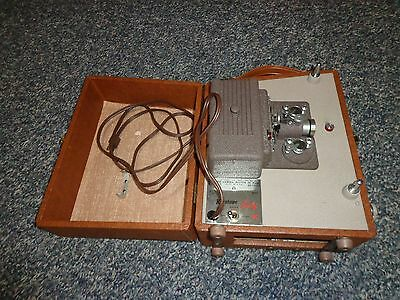 Keystone Sixty Vintage 8mm Projector In Case TESTED & WORKING