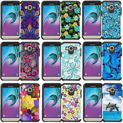 Slim Hybrid Armor Case Protective Phone Cover for LG G Vista VS880