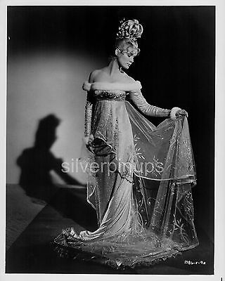 Orig 1962 YVETTE MIMIEUX in Period Gown.. GLAMOUR Portrait.. GORGEOUS!!