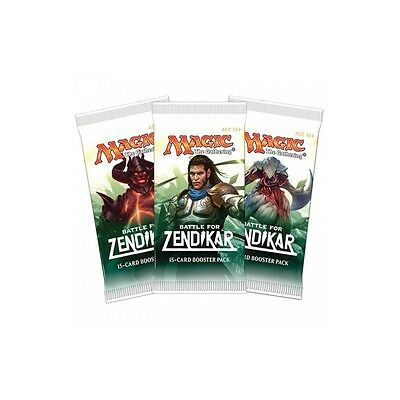 Magic the Gathering Cartas Batalla por Zendikar sobre 15 cartas