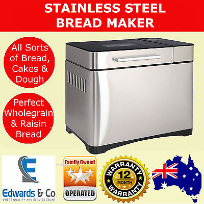 Bread Maker Machine Stainless Paddle Loaf Professional Automatic Fruit Dispenser