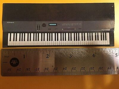 Roland RD-1000 Synthesizer Refrigerator Magnet Deluxe