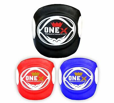 Super- Body Pad Armour Guard Chest Muay Thai Training Belly Protector MMA