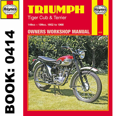 Triumph Tiger Cup and Terrier 1952-1968 Haynes Workshop Manual