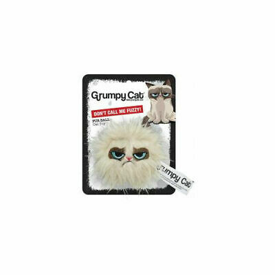 Rosewood Pet Products Grumpy Cat Cat Toy Hair Ball 5cm