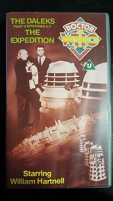DOCTOR WHO The Daleks Part 2 Episodes 5-7 The Expedition VHS. .