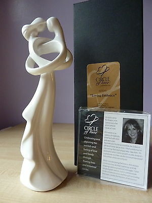 CIRCLE OF LOVE Loving Embrace Figurine Boxed NEW