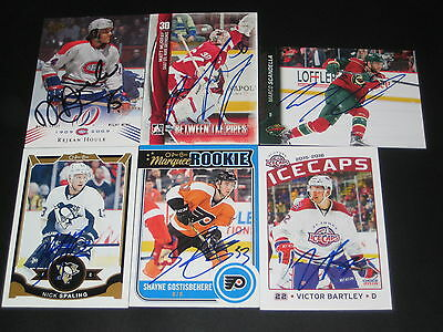 """NICK SPALING autographed '15/16 PITTSBURGH PENGUINS """"O-Pee-Chee"""" card"""