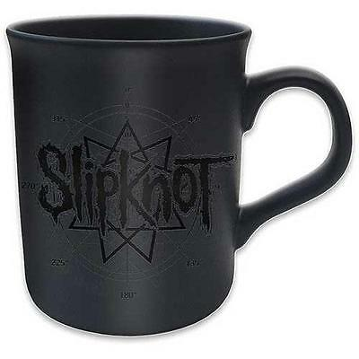 Slipknot - Logo Ceramic Matt Coffee / Tea Mug - New & Official In Box