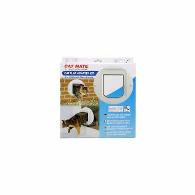 Pet Mate Adapter Kit For 360 Cat Flap Walls And Glass Panels