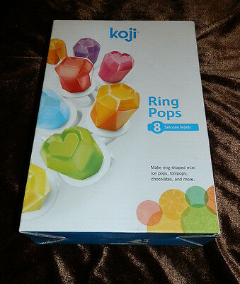 Hard to Find! NEW Koji Ring Pop Molds makes 8 Fun  BPA + Phthalate Fre