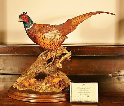 """Country Artist """"Autumn Spendour""""by Keith Sherwin 93/350 Pheasant RARE"""