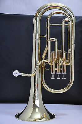 Jupiter JAL456 Tenor Horn with Case JAL 456 Lacquer Denis Wick Mouthpiece
