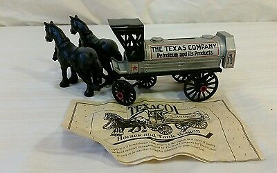 Texaco Collectors Series bank #8 (Horse and Tanker)