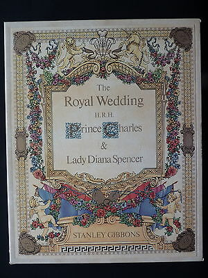 British Commonwealth. Massive 1981 Royal Wedding Collection. 4 Gibbons Volumes.