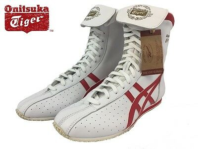 Asics Onitsuka Tiger TKO Boxing Shoes (boots) HL320 White/Red