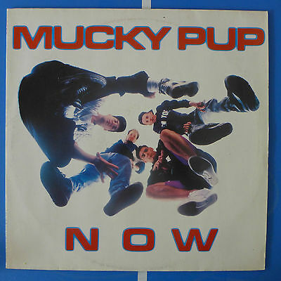 MUCKY PUP NOW RO9340 Roadracer Records 1990 VG++/VG++ OIS
