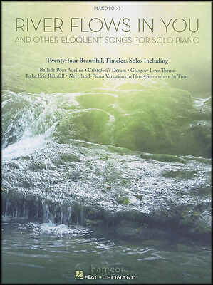 River Flows In You and Other Eloquent Songs Piano Solo Sheet Music Book