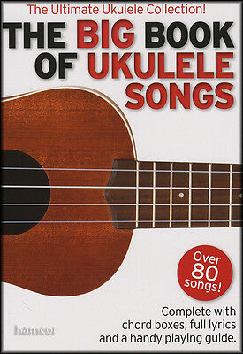 The Big Book of Ukulele Songs Chord Songbook (Over 80 Songs)