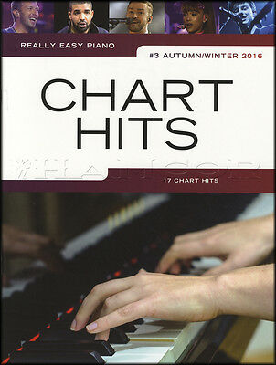 Really Easy Piano Chart Hits 3 Autumn/Winter 2016 Sheet Music Book P1nk Adele