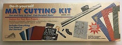 Logan Graphics Do It Yourself Mat Cutting Kit Framing Cutter Tools Model 525