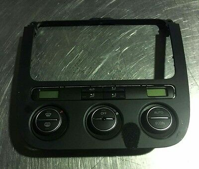 VW Golf GTI MK5 2.0 heater a/c duel climate control panel and switches