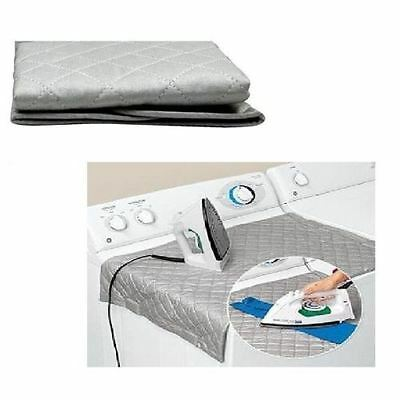 NEW FOLDABLE EASY IRONING MAT- IRON ANYWHERE with MAGNETIC CORNER