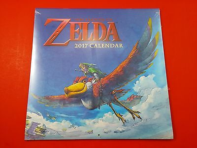 The Legend of Zelda 2017 Calendar [Brand New & Sealed] Official Licenced Product