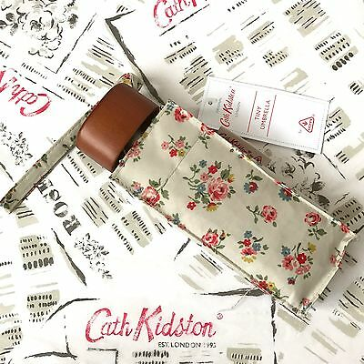 Genuine CATH KIDSTON x FULTON Kew Sprig Umbrella NEW with Tags