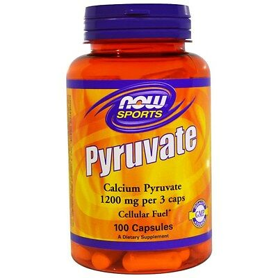 Now Foods, Pyruvate, 1200 mg, 100 Capsules