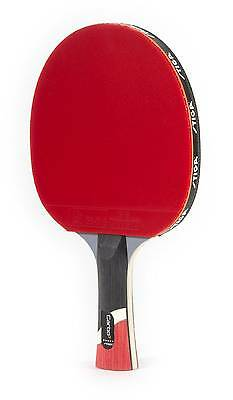 STIGA Pro Carbon Table Tennis Racket Features Carbon Technology For Power Speed