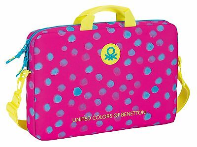 "BENETTON ""DOTS"" Funda ordenador portátil 15,6"" /Laptop bag"