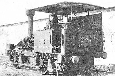 Photo Of 7Ft Gauge Tank Engine Owned By Silica Works Holyhead Anglesey