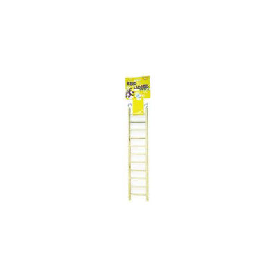 Happy Pet Products Wooden Bird Ladder 11 Step