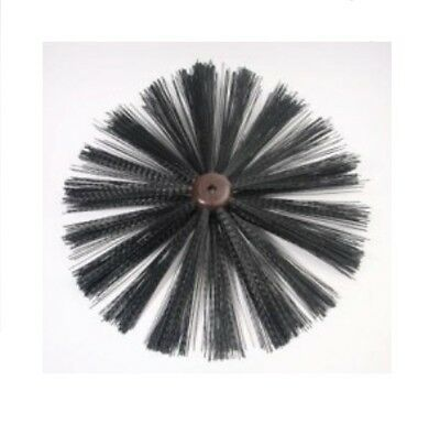 Horobin 16 Inch Universal Chimney Sweep Cleaning Brush Drain Rod Head