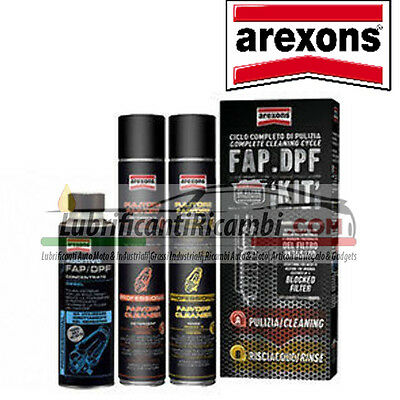 Kit pulizia FAP / DPF Arexons per Diesel (Con Additivo Carburante Incluso)
