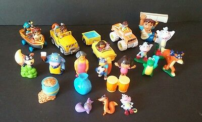 Dora the Explorer Go Diego PVC Figures Take Along Diecast Cars Learning Curve