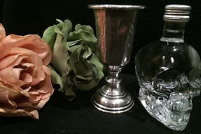 ANTIQUE Imperial RUSSIAN 84 SILVER - KIDDUSH GOBLET/SHOT CUP-Year 1882-42 GRAMS