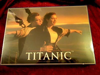 TITANIC  MOVIE 1997  JIGSAW PUZZLE - 1000 DiCAPRIO WINSLET RARE  OFFICIAL SEALED