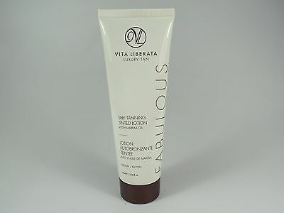 VITA LIBERATA Fabulous Self Tanning Tinted Lotion 100ml - Dark