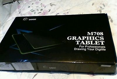 M708 Graphics tablet, brand new in box