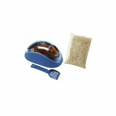 Ferplast Koky Hamster Toilet With Scoop Mixed Colours 18x10.2x8.3cm