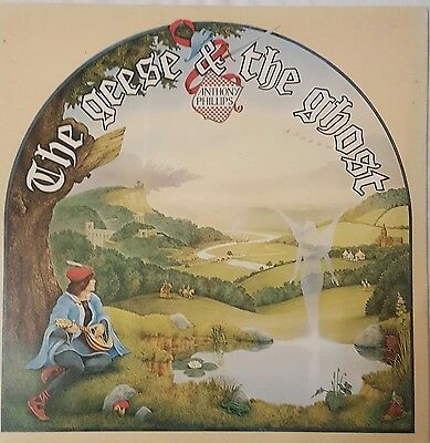 ANTHONY PHILLIPS Geese And The Ghost LP HIT & RUN 001 1977 Ex.Cond FREE POST