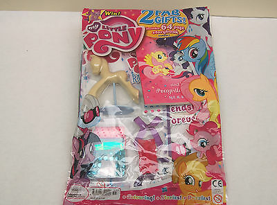 My Little Pony Magazine Comic with Free Gifts  Rarity's Fashion Set NEW
