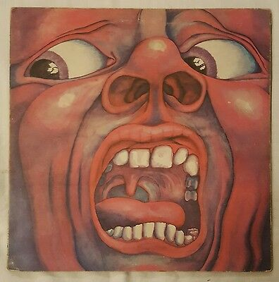 King Crimson - In The Court of The Crimson King 1969 UK LP PINK ISLAND FREE POST