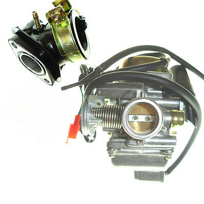 150Cc Chinese Scooter Carburetor & Intake Manifold Gy6 125 150 Moped Carb