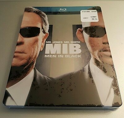 Futureshop Men In Black I (MIB) Blu-Ray Steelbook - BRAND NEW, UNOPENED