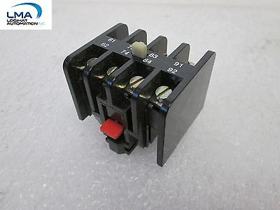 Simplex Allenwest U-4195105 Auxiliary Contact Top Adder 2No 2Nc *** New