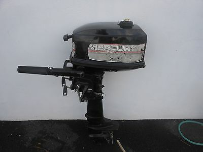mercury 4hp 2 stroke outboard engine