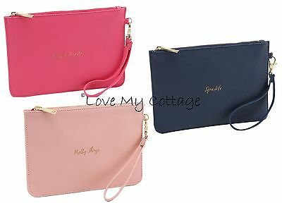 Luxury Slogan Make-up Case Beauty Bag Cosmetic Travel Case Purse Pretty Things
